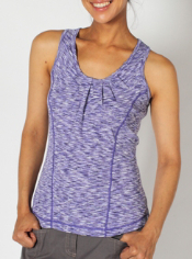 Throw on this unique and functional tank top whenever you're headed out on an...