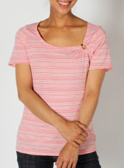 The Go-To Stripe Tee goes beyond being a great basic piece. It features dri ...