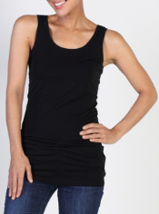 The versatile Go-To Tank comes in a longer length and a variety of colors to ...
