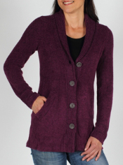 Whenever you feel a chill, reach for the Vona Cardigan. This unique wool and ...