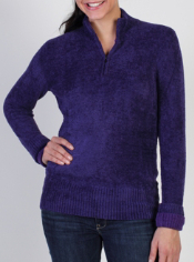 Stay cozy in the Irresistible Dolce™ 1/4 Zip Sweater. It features contrast ...