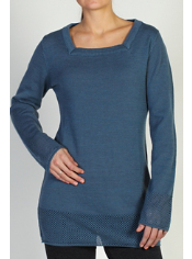 The Cafenista Tunic features JavaTech technology in a cozy and versatile ...