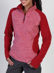 Grab the Tesserae Fleece 1/4 Zip whenever you need a great layer for on the ...