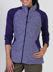 When the weather chills out just grab the Tesserae Fleece Vest. This ...