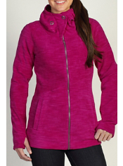 Snuggle up in the Calluna Fleece Hoody, whether you're walking through a ski ...