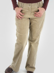 These pants are engineered with a soft poly-blend corduroy that dries quickly...
