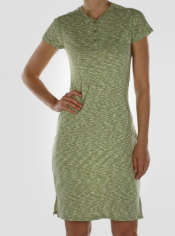 The Chica Cool Dress features a travel-ready silhouette that utilizes ...