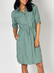 The GeoTrek'r Dress will take you around the world with a classic look and ...