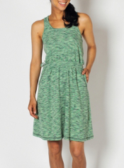 Travel in style with the Chica Cool Tank Dress. This fun space-dye dress has ...