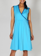The Sol Cool™ Wrap Dress is amazingly versatile. Wear it out to dinner one ...