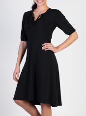 The Go-To Ruffled Dress, crafted from drirelease® performance fabric, will ...