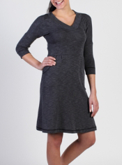 The travel-ready Chica Cool Dress can go anywhere with its flattering ...