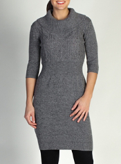 The Cafenista Sweater Dress features JavaTech technology in a cozy and ...