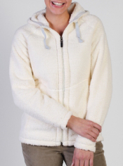 This cozy fleece Sheeba Hoody is a fantastic lounge around layer.