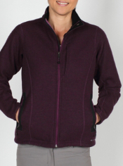 Warmth and style are perfectly combined in the Consolo fleece jacket, which ...