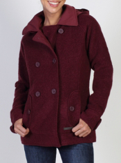A picture of classic style and warmth, the Medelton Pea Coat is crafted from ...