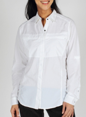 The BugsAway Halo shirt is crafted from sun protective lightweight nylon and ...