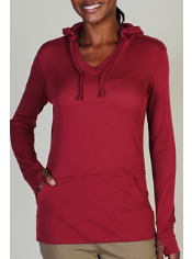The BugsAway Lumen Hoody, featuring Insect Shield®, is constructed with a ...