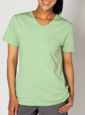 The BugsAway Chas'r Tee offers bug and sun protection in a comfortable cotton...