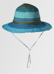The Chipara Fedora will go everywhere you do this summer. With UPF Sun Guard ...