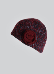 The Rozeta Beanie features a soft wool blend that will keep you warm on all ...