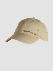 A classic hat embroidered with an ExOfficio design.