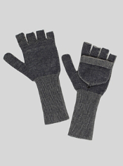 The Cafenisto Convertible Mittens feature JavaTech technology in a cozy style...