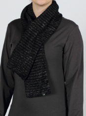 The Vona Tube Scarf, crafted from a wool and chenille fleece blend, provides ...