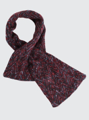 The Rozeta Pull-Thru Scarf will keep you cozy and fashionable anywhere your ...