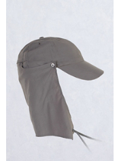 The BugsAway Cape Hat provides maximum bug and sun protection for your ears, ...