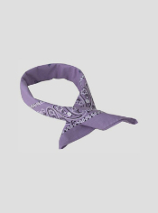 The BugsAway Paisley Bandana can be worn a variety of ways for versatile ...