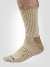 The wool blend BugsAway Purdom Hiker sock provides long-lasting, effective ...