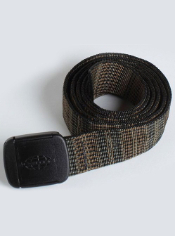 Keep this belt on when going through security gates at the airport or wear it...