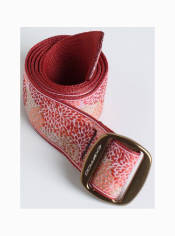 This belt features a design that's having as much fun as you are. Wear this ...