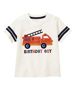Birthday Boy Fire Truck Tee