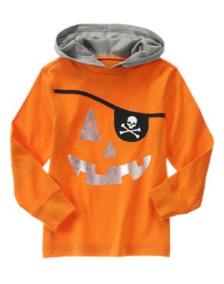 Pumpkin Pirate Hooded Tee
