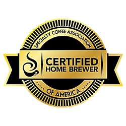 Certified Home Brewer Award
