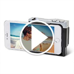 Play video for The iPhoone Camera Enhancer