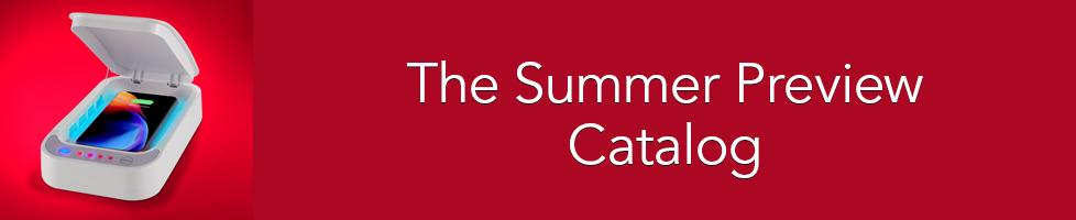 Hammacher Schlemmer - Summer Preview