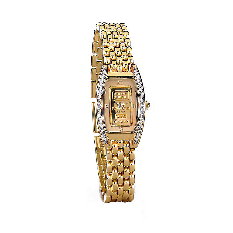 Goldplated The Gold Ingot Watch by Lenox, Women's Watches by Lenox
