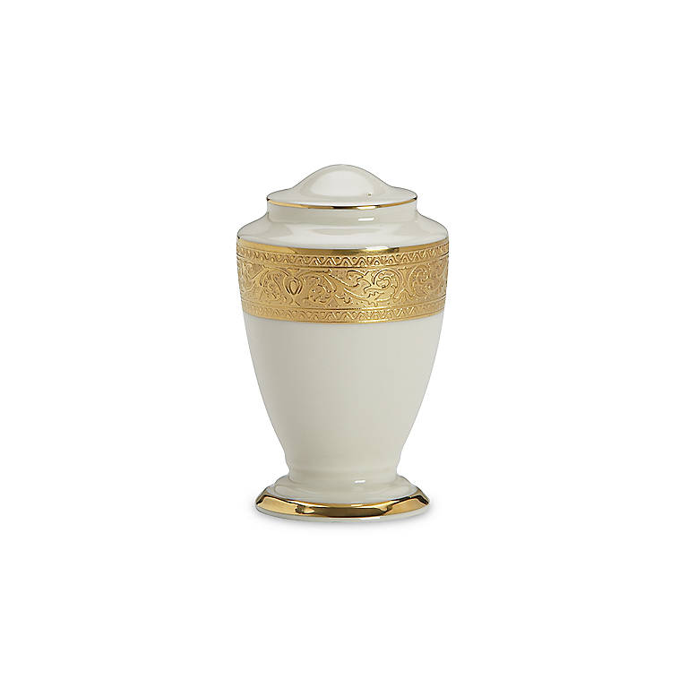 Ivory China Lenox Westchester Salt Shaker, Dinnerware Serving Pieces by Lenox