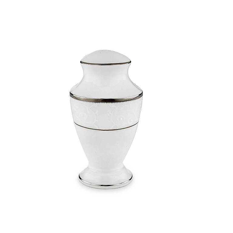 Bone China Lenox Opal Innocence Salt Shaker, Dinnerware Serving Pieces by Lenox