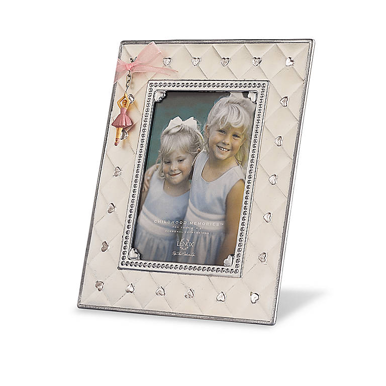 Silverplated Childhood Memories 4x6 Frame by Lenox, Home Decorating Picture Frames by Lenox