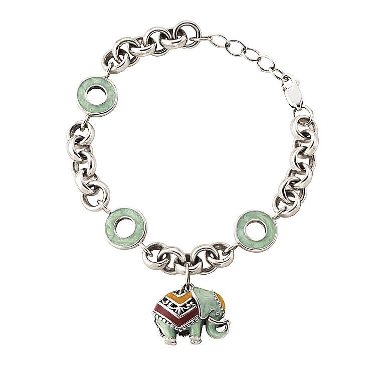 Lenox Double Luck Bracelet, Costume Jewelry by Lenox