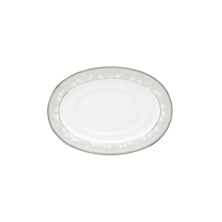 Bone China Bellina Sauce Boat Stand by Lenox, Dinnerware Serving Pieces by Lenox