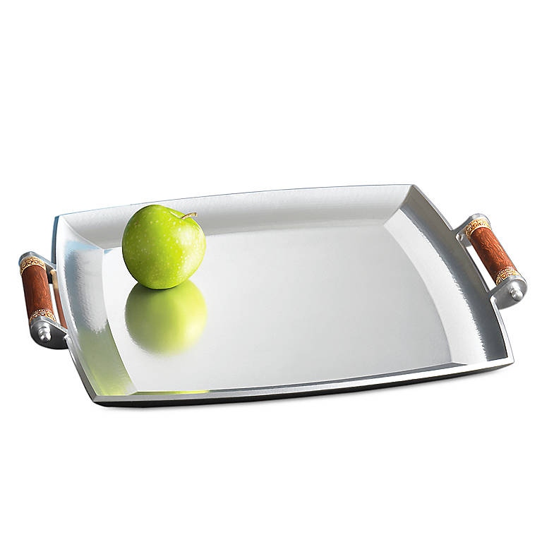 Metal Abbreo Square Tray by Lenox, Dinnerware Serving Pieces by Lenox