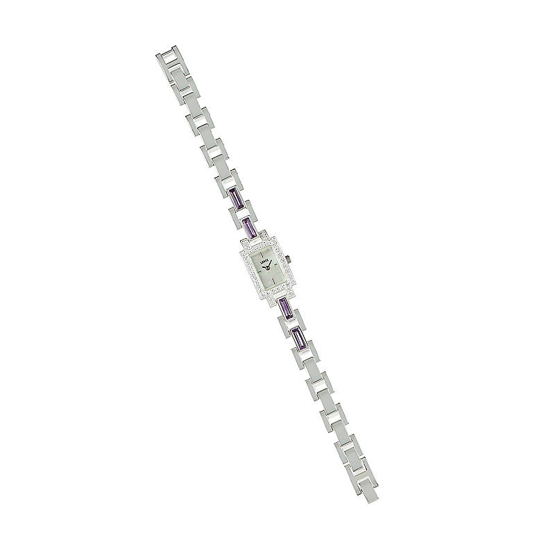 Sterling Silver Grand Impressions Watch by Lenox, Women's Watches by Lenox