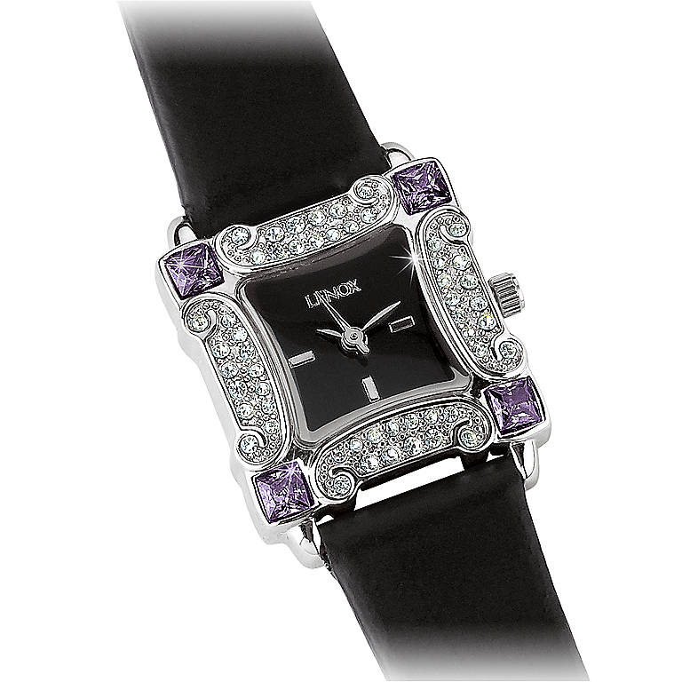 Stainless Steel Amethyst Allure Watch by Lenox, Women's Watches by Lenox
