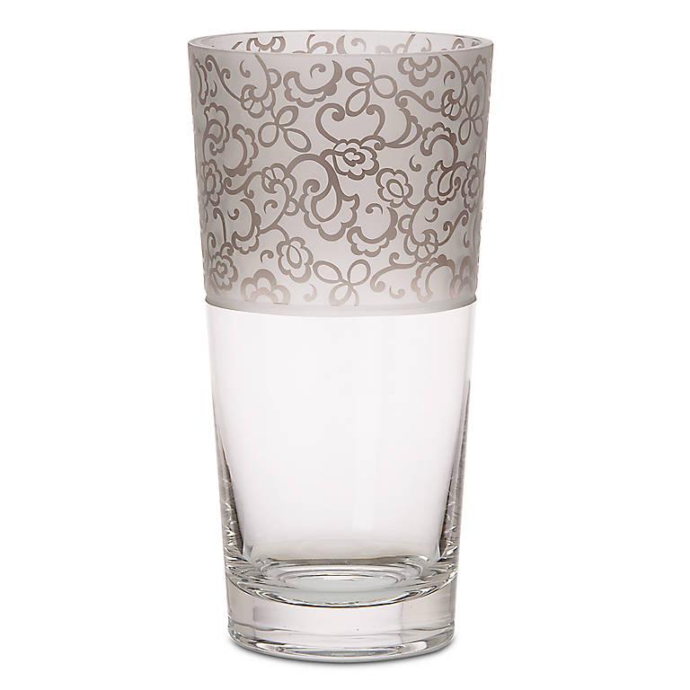 Crystal Lenox Heiress Large Vase, Home Decorating Vases by Lenox