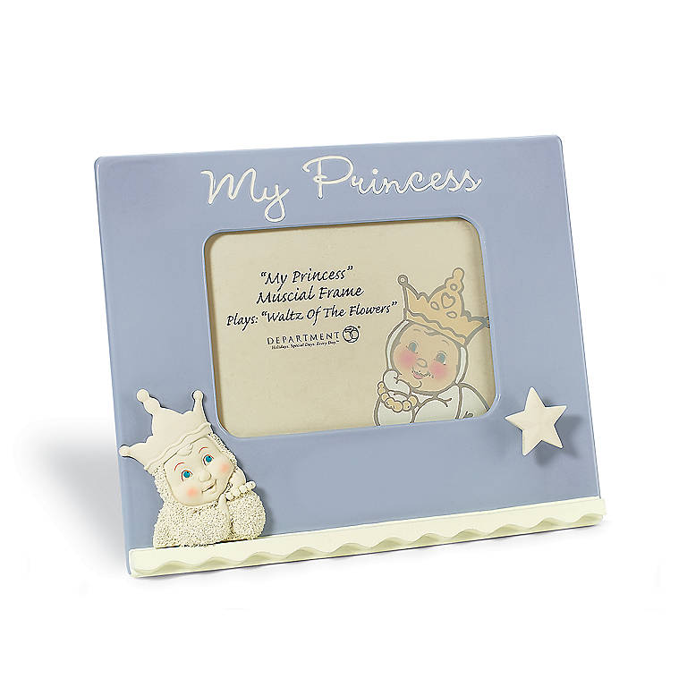 Ceramic My Princess Musical Frame, Home Decorating Picture Frames by Lenox